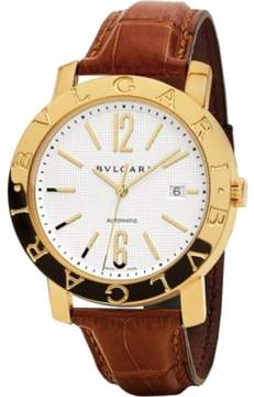 Bulgari BB42WGLDAUTO Stainless Steel 42mm Watch