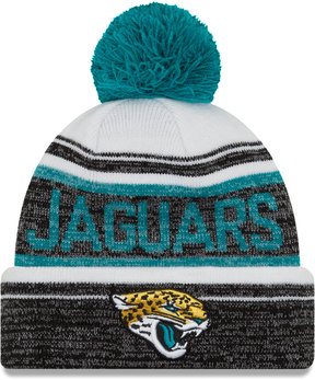 New Era Jacksonville Jaguars Snow Dayz Knit Hat