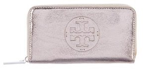 Tory Burch Logo Continental Wallet - METALLIC - STYLE