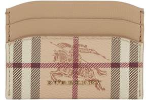 Burberry Izzy Card Holder - BEIGE - STYLE