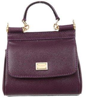 Dolce & Gabbana Miss Sicily Mini Crossbody Bag