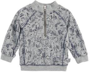 Splendid Infant Boy's Quarter Zip Sweatshirt