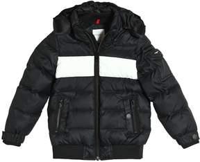 Givenchy Hooded Nylon Down Jacket