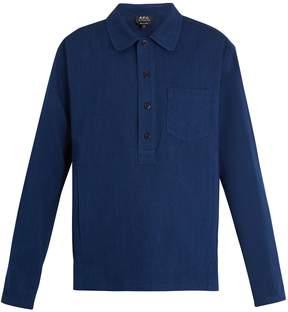A.P.C. Liquette Haddock cotton-twill shirt