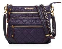 MZ Wallace Downtown Crosby Quilted Nylon Crossbody Bag