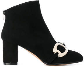 Jean-Michel Cazabat Georgina suede ankle boots