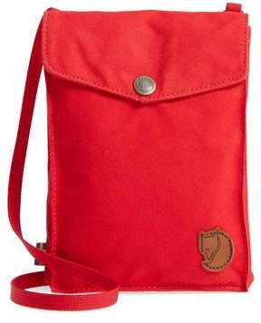 Fjallraven Pocket Crossbody Bag - Red