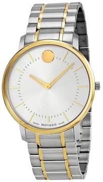 Movado Silver Dial Two-tone Men's Watch 0606689
