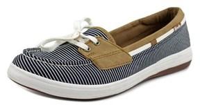 Keds Glimmer Moc Toe Canvas Boat Shoe.
