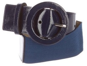 Alice + Olivia Buckle Patent Leather Belt w/ Tags