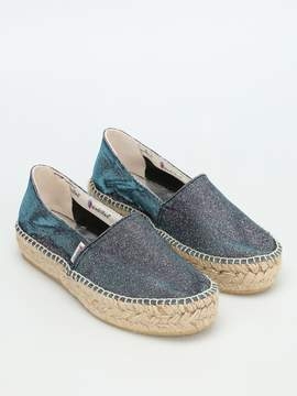 Espadrilles Tommy Lurex Wedge