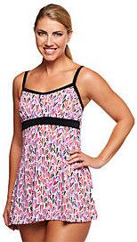 Fit 4 U Thighs Shellborne Empire Swim Dress