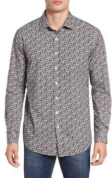 Rodd & Gunn Men's Bucklands Beach Print Sport Shirt