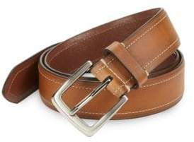 Black & Brown Black Brown Tan Leather Belt