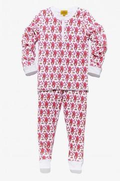 Roberta Roller Rabbit Kids Monkey Pajama Set in Pink