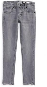 Volcom Boy's 'Solver' Straight Leg Denim Jeans