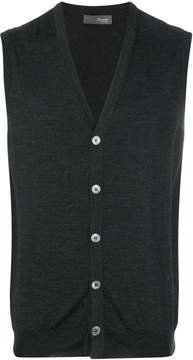 Drumohr sleeveless v-neck cardigan