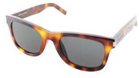 Saint Laurent Rectangle Plastic Sunglasses.
