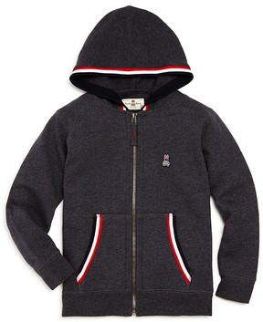 Psycho Bunny Boys' Fleece Zip-Up Hoodie - Little Kid, Big Kid