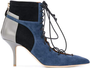 Malone Souliers pointed lace-up boots