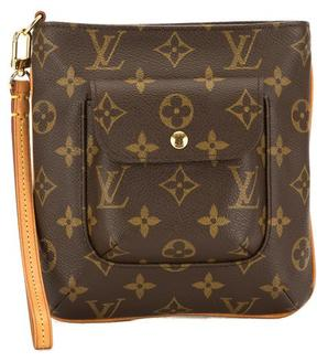 Louis Vuitton Monogram Canvas Partition Bag - BROWN - STYLE
