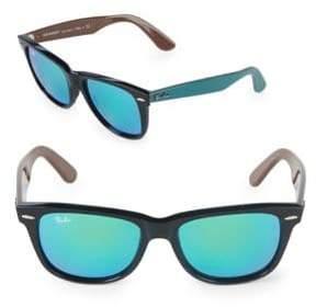 Ray-Ban 50MM Square Wayfarer Sunglasses