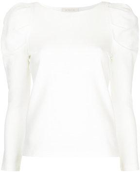 ESTNATION puff sleeve shirt