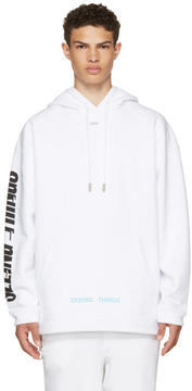 Off-White White Photocopy Over Hoodie