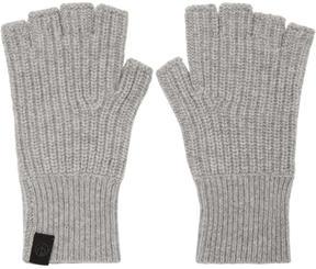 Rag & Bone Grey Cashmere Ace Gloves