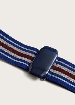 Violeta BY MANGO Appliqué elastic belt