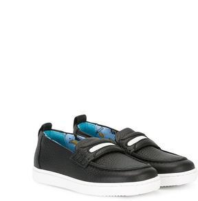 Dolce & Gabbana Kids strap loafers