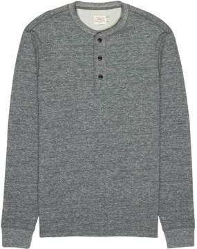Faherty Dual Knit Henley - Men's