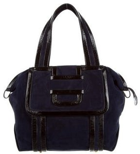 Pierre Hardy Leather & Suede Tote