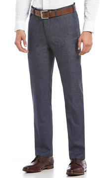 Murano Alex Modern Slim-Fit Flat-Front Jasper Textured Pants