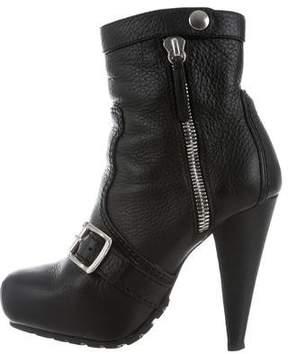 Proenza Schouler Square-Toe Platform Boots