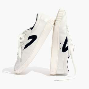 Madewell Tretorn® Nylite Plus Sneakers in Leather and Velvet