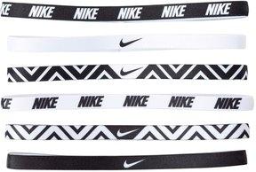 Nike Printed Headbands Assorted (6 Pack) 8133060