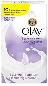 Olay Quench Daily Moisture 6-Bar Soap - 24oz