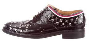 Gucci Studded Leather Loafers