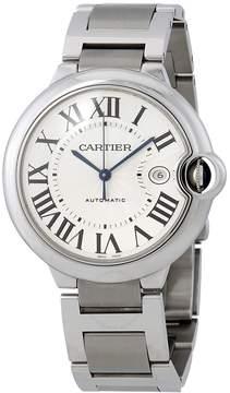 Cartier Ballon Bleu de Silver Stainless Steel Men's Watch W69012Z4
