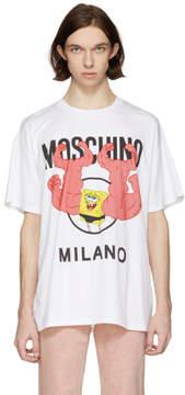 Moschino White Spongebob T-Shirt