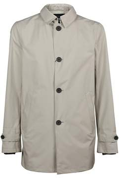Herno Men's Im010ul111011300 White Polyester Coat.