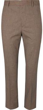Bottega Veneta Slim-Fit Checked Woven Trousers
