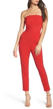 Adelyn Rae Women's Malia Strapless Jumpsuit