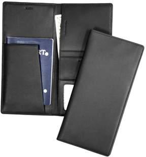 Royce Leather ROYCE RFID Blocking Passport Ticket Organizer in Genuine Leather