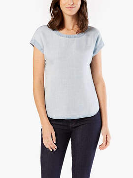 Dockers Cap Sleeve Top Shirt