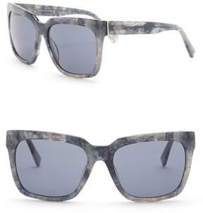 Joe's Jeans Oversized 58mm Sunglasses