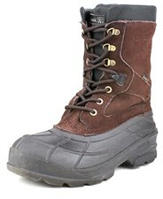 Kamik Nation Plus Round Toe Canvas Snow Boot.