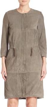 Eleventy Women's Suede Jacket
