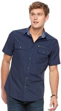 Rock & Republic Men's Printed Woven Button-Down Shirt